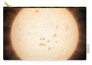 Exoplanet Hd 219134b In Front Of Star Carry-all Pouch