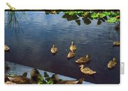 Exotic Birds Of America Ducks In A Pond Carry-all Pouch
