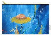 Exotic Colorful Flowers Abstract Composition Carry-all Pouch
