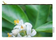 Exotic White Flower Carry-all Pouch