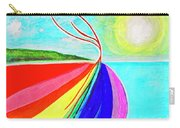 Expansive Flowing Colors In Nature Carry-all Pouch