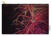 Exploding Festive Fireworks Carry-all Pouch