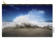 Exploding Seas Carry-all Pouch