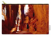 Exploring A Cave Carry-all Pouch