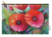 Expressionist Poppies Carry-all Pouch