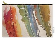 Feather Expressions Carry-all Pouch