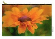 Expressive Sunflower Carry-all Pouch