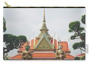 Exquisite Details On The Building Of Wat Arun In Bangkok, Thailand Carry-all Pouch