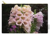 Exquisite Elegant English Foxgloves Carry-all Pouch