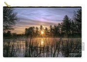 Exquisite Sunrise On The Androscoggin River 2 Carry-all Pouch