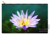 Exquisite Waterlily Carry-all Pouch