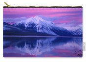 Extreme Sunset On Lake Mcdonald Carry-all Pouch