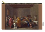 Extreme Unction Nicolas Poussin Carry-all Pouch