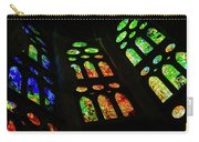 Exuberant Stained Glass Windows Carry-all Pouch