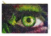 Eye And Butterflly Vegged Out Carry-all Pouch