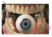 Eye Held By Teeth Carry-all Pouch