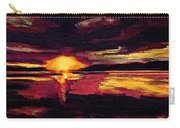 Eye In The Sky Sunset Art Carry-all Pouch