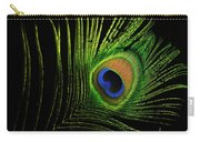 Eye Of A Peafowl Carry-all Pouch