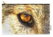 Eye Of A Wolf. Carry-all Pouch