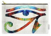 Eye Of Horus - By Sharon Cummings Carry-all Pouch