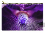 Eye Of Iris Nature Photograph Carry-all Pouch