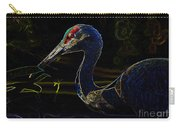 Eye Of The Crane Carry-all Pouch