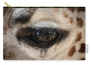 Eye Of The Giraffe Carry-all Pouch