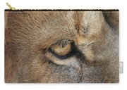 Eye Of The Lion #2 Carry-all Pouch