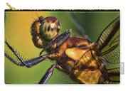 Eye To Eye Dragonfly Carry-all Pouch