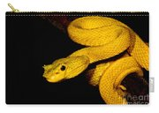 Eyelash Palm Pitviper Carry-all Pouch