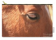 Eyelashes - Horse Close Up Carry-all Pouch