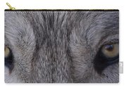 Eyes Of A Wolf Carry-all Pouch