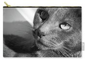 Eyes Of Russian Blue Carry-all Pouch