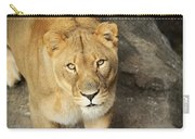 Eyes Of The Lioness Carry-all Pouch
