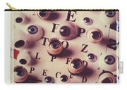 Eyes On Eye Chart Carry-all Pouch