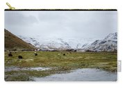 Eyjafjallajokull Iceland Carry-all Pouch