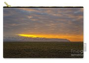 Eyjafjallajokull Sunrise Iceland Carry-all Pouch