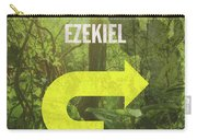 Ezekiel Books Of The Bible Series Old Testament Minimal Poster Art Number 26 Carry-all Pouch