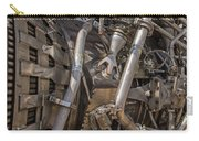 F-1 Rocket Engine Carry-all Pouch by Allen Sheffield