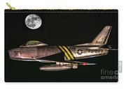 F-86 And The Moon Carry-all Pouch