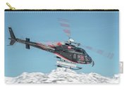 F-gsdg Eurocopter As350 Helicopter Over Mountain Carry-all Pouch