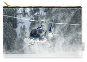 F-hana Eurocopter Ec-130 Landing Helicopter At Courchevel Carry-all Pouch