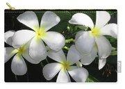 F1 Plumeria Frangipani Flowers Hawaii Carry-all Pouch