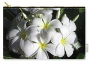 F13-plumeria Flowers Carry-all Pouch