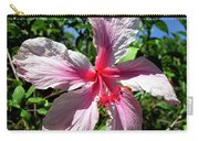 F17 Pink Hibiscus Carry-all Pouch