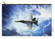 F18 Fighter Jet Carry-all Pouch by Aaron Berg