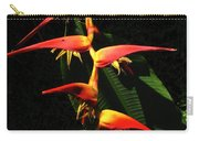 F19 Heliconia Flowers Hawaii Carry-all Pouch