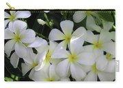 F2 Plumeria Frangipani Flowers Hawaii Carry-all Pouch