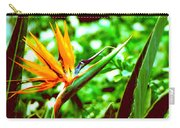 F21 Bird Of Paradise Flower Carry-all Pouch