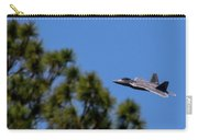 F22 Raptor Flying Low Carry-all Pouch